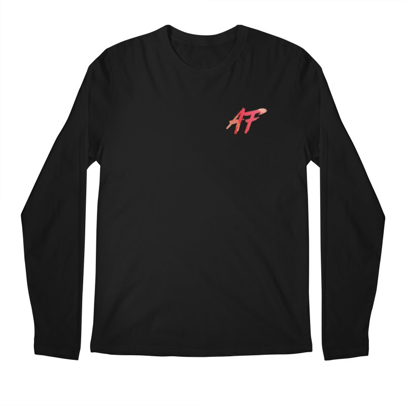 """""""FIRE"""" AF Logo (Limited Edition) Men's Longsleeve T-Shirt by The Official AFGoblin Merch Store"""