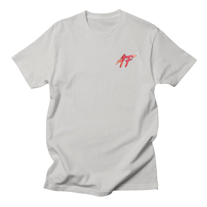 """""""FIRE"""" AF Logo (Limited Edition) Men's T-Shirt by The Official AFGoblin Merch Store"""