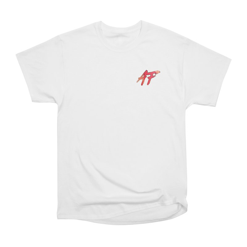 """FIRE"" AF Logo (Limited Edition) Men's Heavyweight T-Shirt by The Official AFGoblin Merch Store"