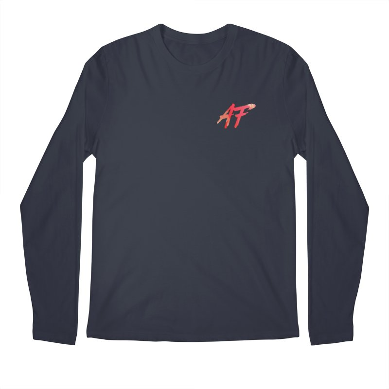 """FIRE"" AF Logo (Limited Edition) Men's Regular Longsleeve T-Shirt by The Official AFGoblin Merch Store"