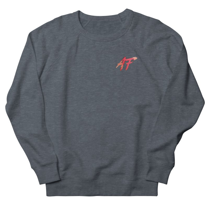 """FIRE"" AF Logo (Limited Edition) Men's French Terry Sweatshirt by The Official AFGoblin Merch Store"
