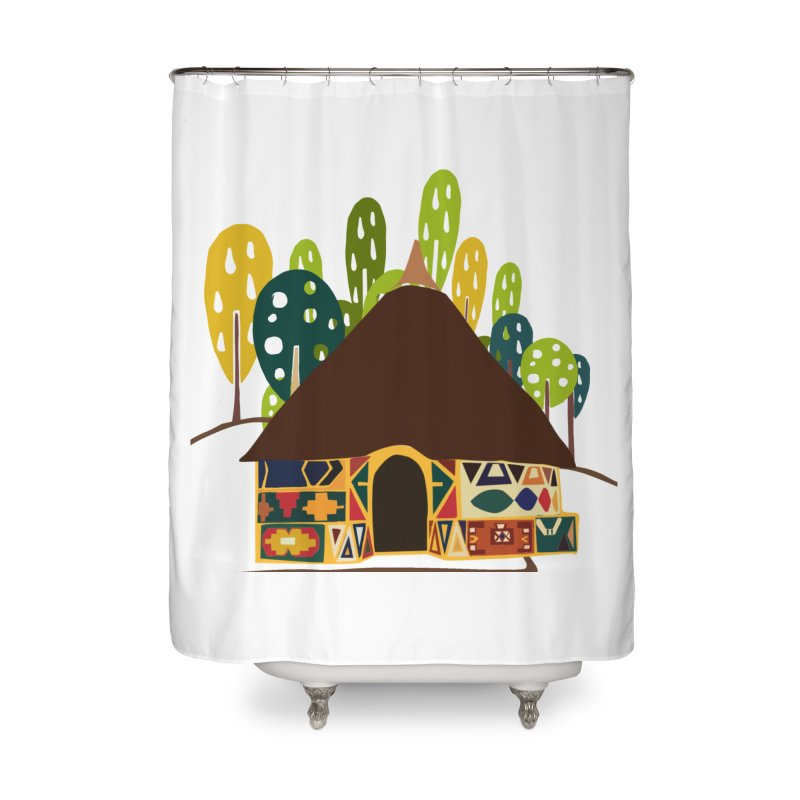 Abode Home Shower Curtain by aflowerchild's Artist Shop