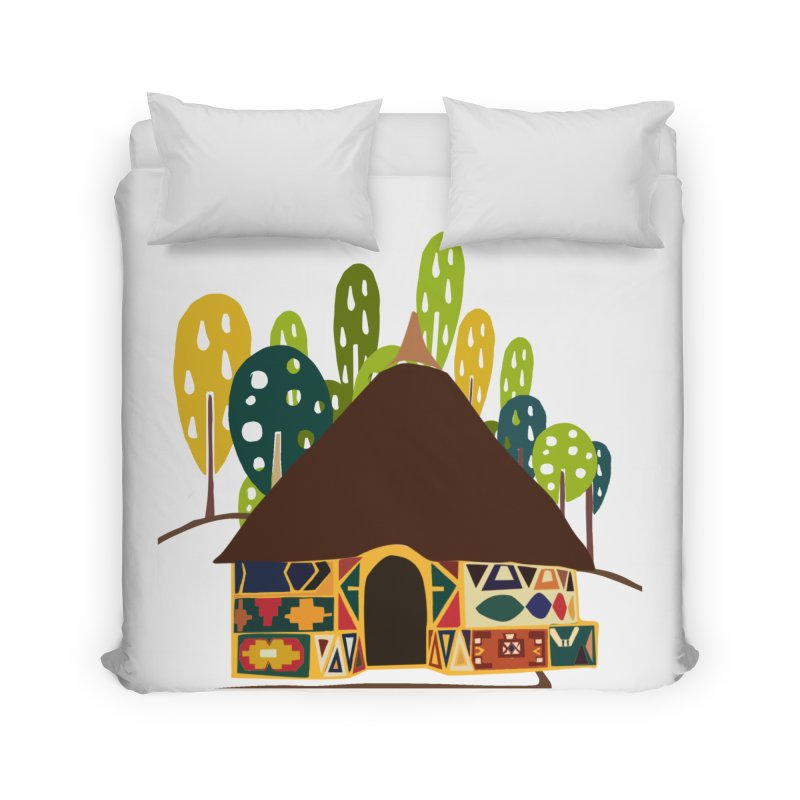 Abode Home Duvet by aflowerchild's Artist Shop