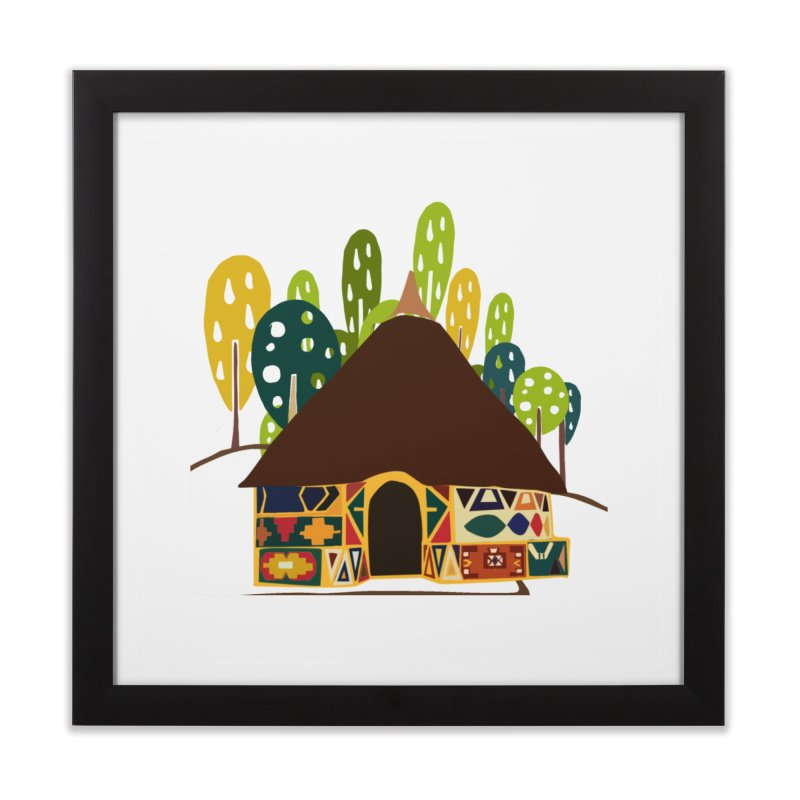 Abode Home Framed Fine Art Print by aflowerchild's Artist Shop