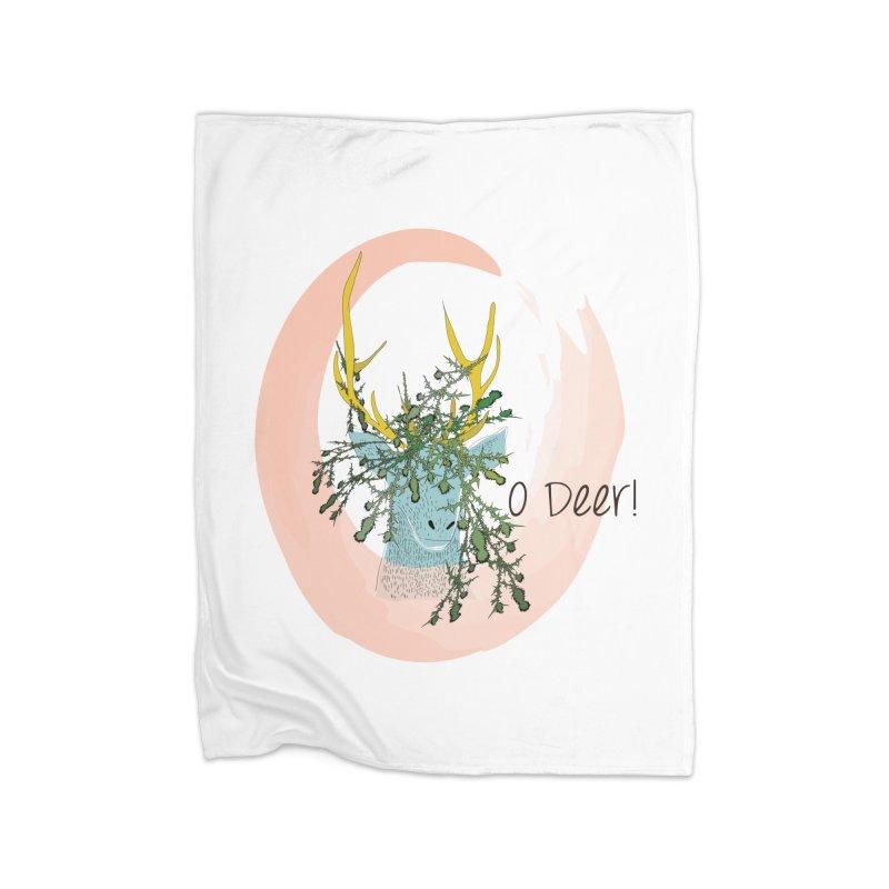 O Deer Home Blanket by aflowerchild's Artist Shop