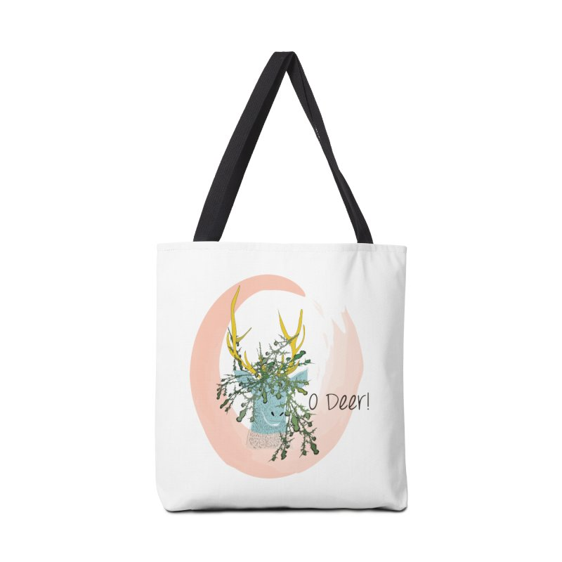 O Deer Accessories Bag by aflowerchild's Artist Shop