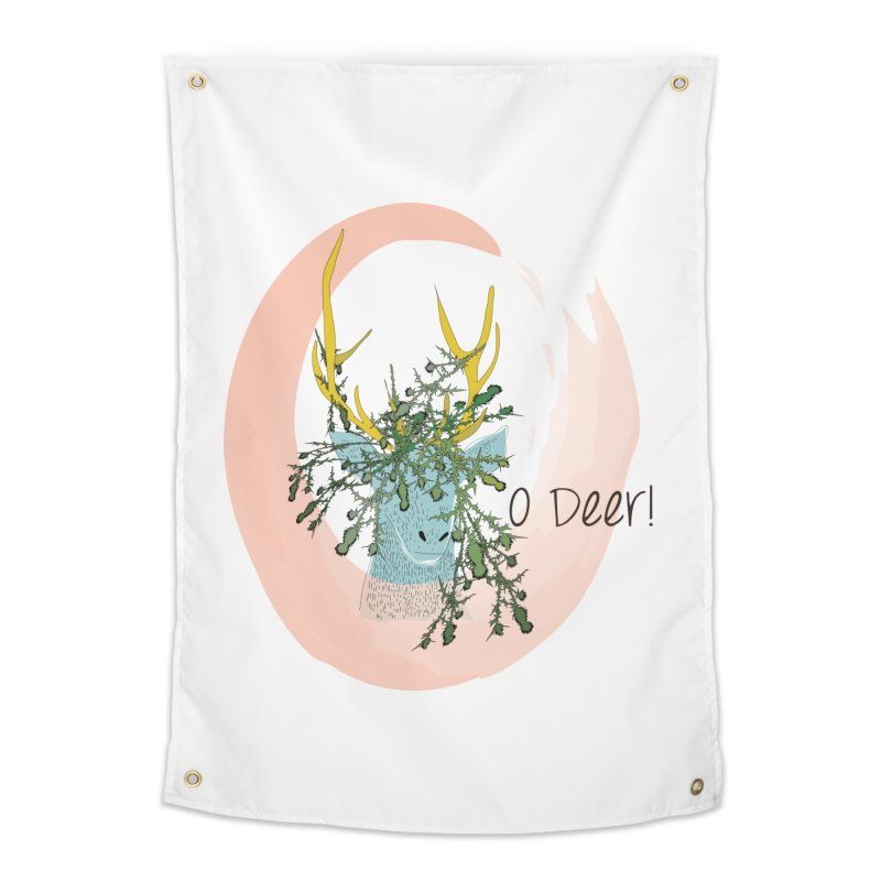 O Deer Home Tapestry by aflowerchild's Artist Shop
