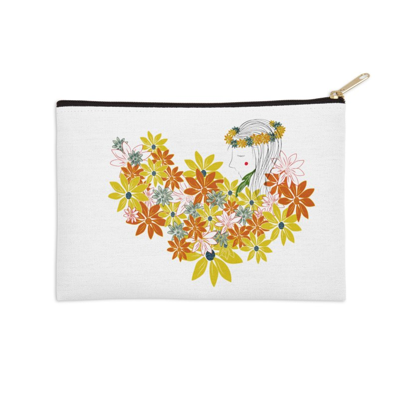 A Flower Child Accessories Zip Pouch by aflowerchild's Artist Shop