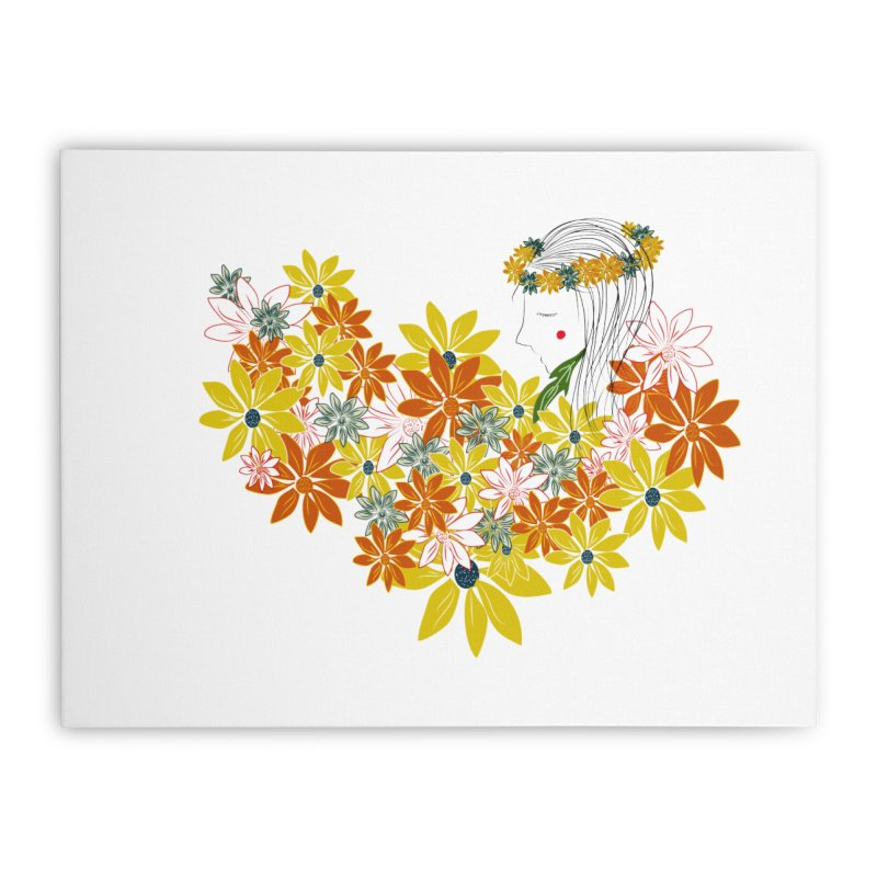 A Flower Child Home Stretched Canvas by aflowerchild's Artist Shop