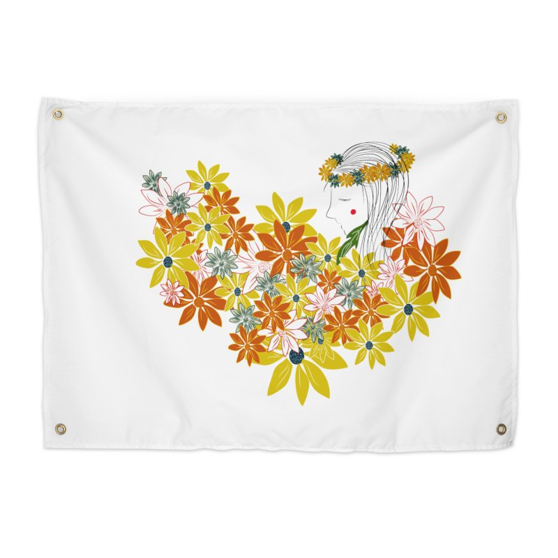 A Flower Child Home Tapestry by aflowerchild's Artist Shop