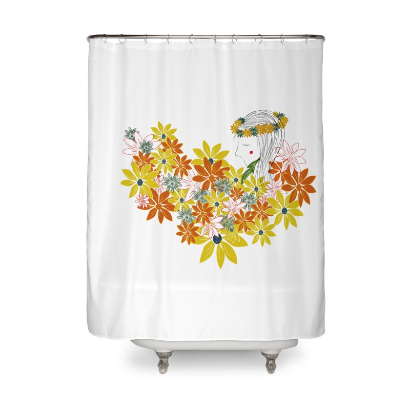A Flower Child Home Shower Curtain by aflowerchild's Artist Shop