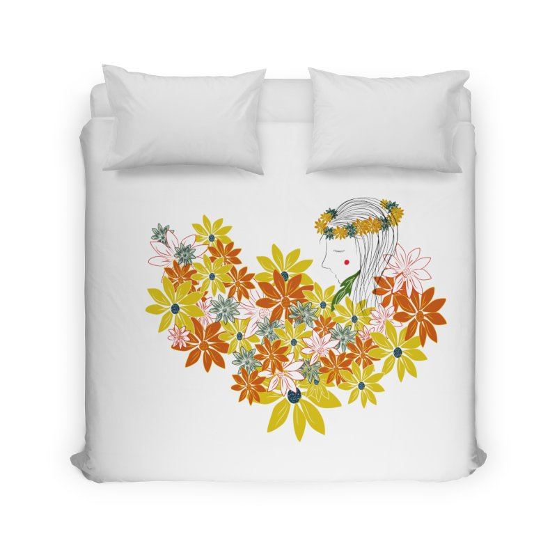 A Flower Child Home Duvet by aflowerchild's Artist Shop