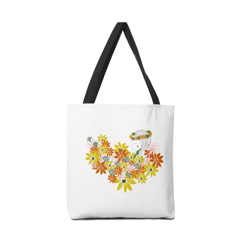 A Flower Child Accessories Bag by aflowerchild's Artist Shop