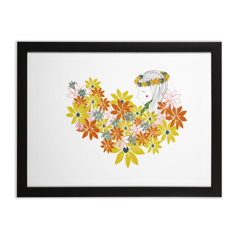 A Flower Child Home Framed Fine Art Print by aflowerchild's Artist Shop
