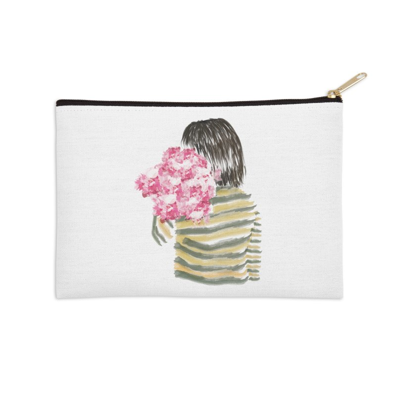 Carry what's beautiful Accessories Zip Pouch by aflowerchild's Artist Shop