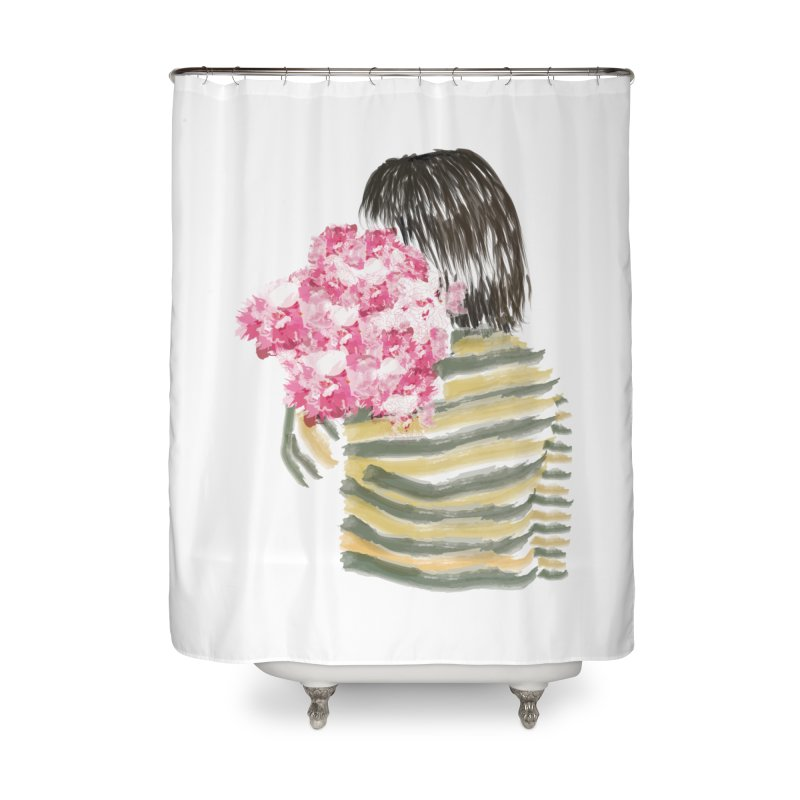 Carry what's beautiful Home Shower Curtain by aflowerchild's Artist Shop