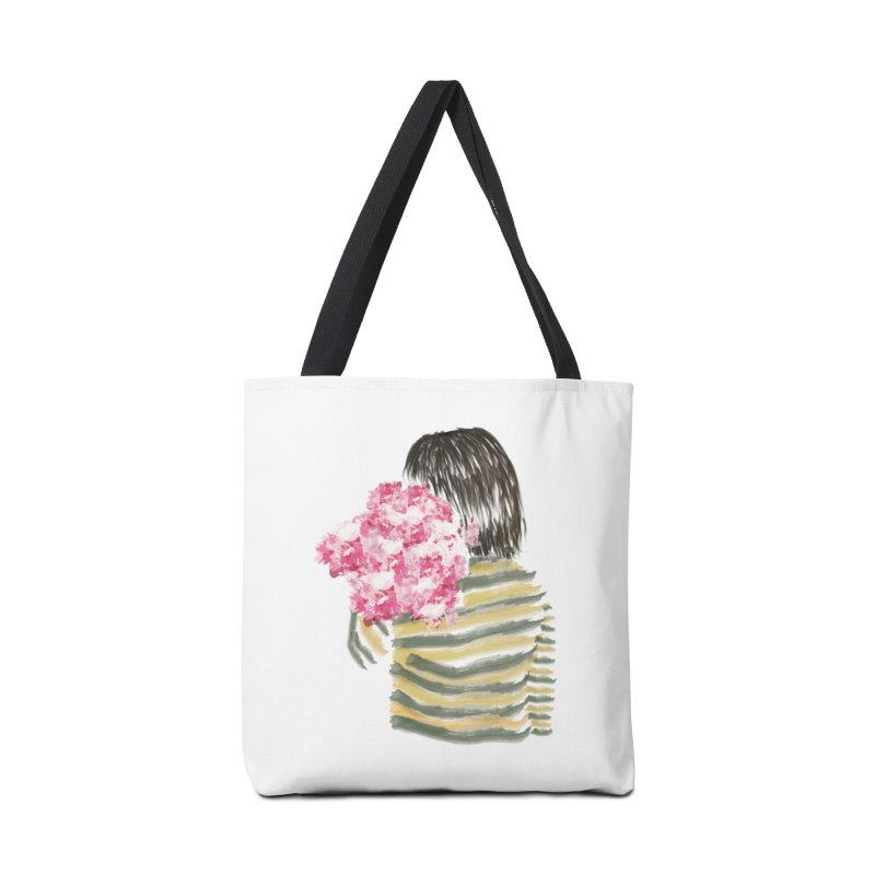 Carry what's beautiful Accessories Bag by aflowerchild's Artist Shop