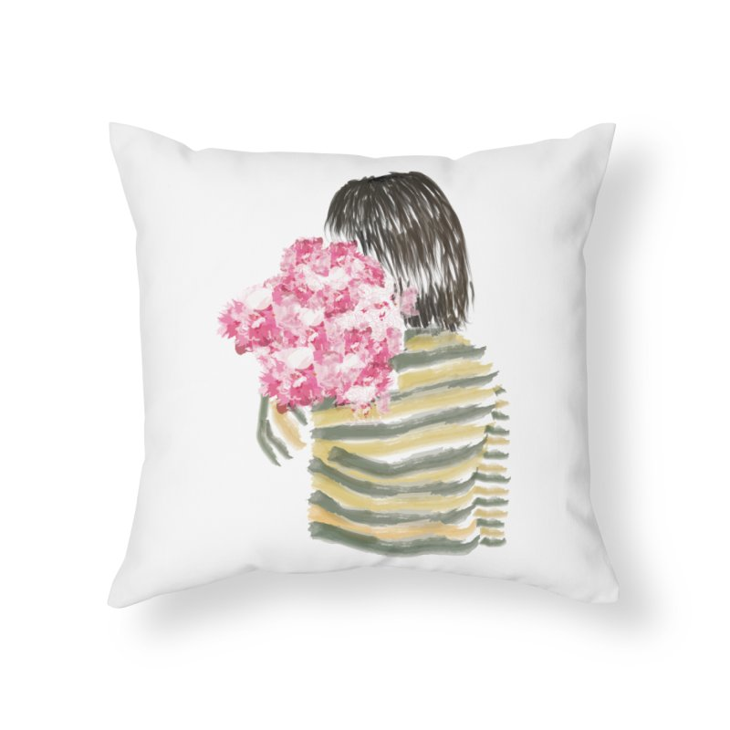 Carry what's beautiful Home Throw Pillow by aflowerchild's Artist Shop