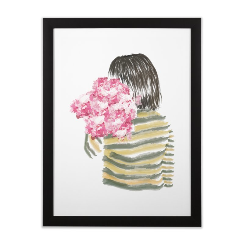 Carry what's beautiful Home Framed Fine Art Print by aflowerchild's Artist Shop