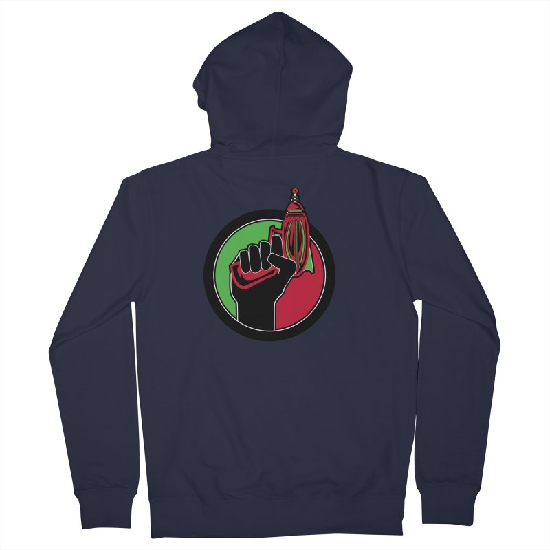 AfroGeeks Unite Women's Zip-Up Hoody by afrogeek's Artist Shop