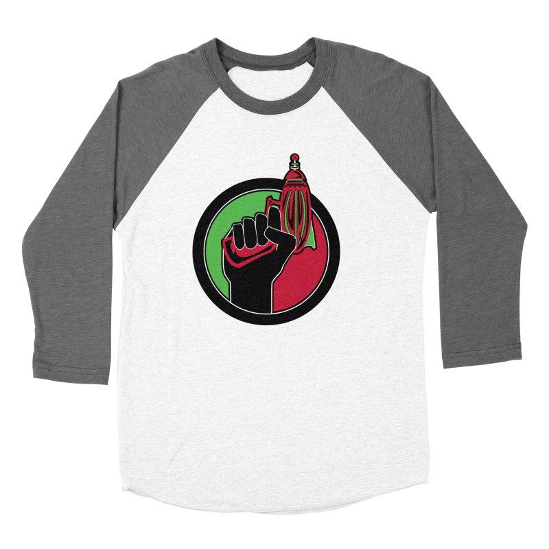 AfroGeeks Unite Women's Baseball Triblend T-Shirt by afrogeek's Artist Shop