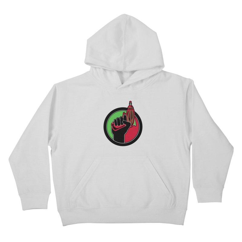 AfroGeeks Unite Kids Pullover Hoody by afrogeek's Artist Shop