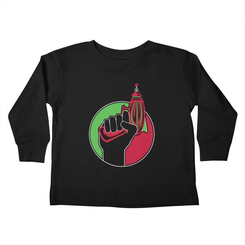 AfroGeeks Unite Kids Toddler Longsleeve T-Shirt by afrogeek's Artist Shop