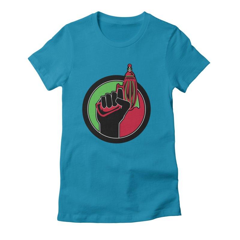 AfroGeeks Unite Women's T-Shirt by afrogeek's Artist Shop