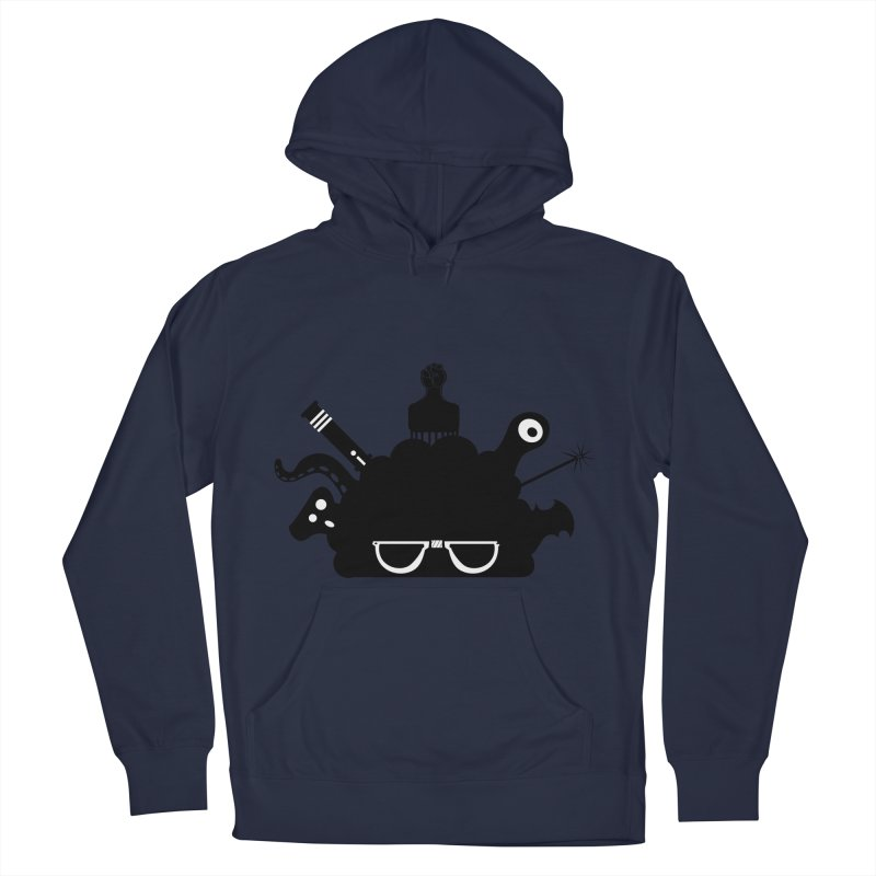 AfroGeek Thoughts Men's French Terry Pullover Hoody by afrogeek's Artist Shop