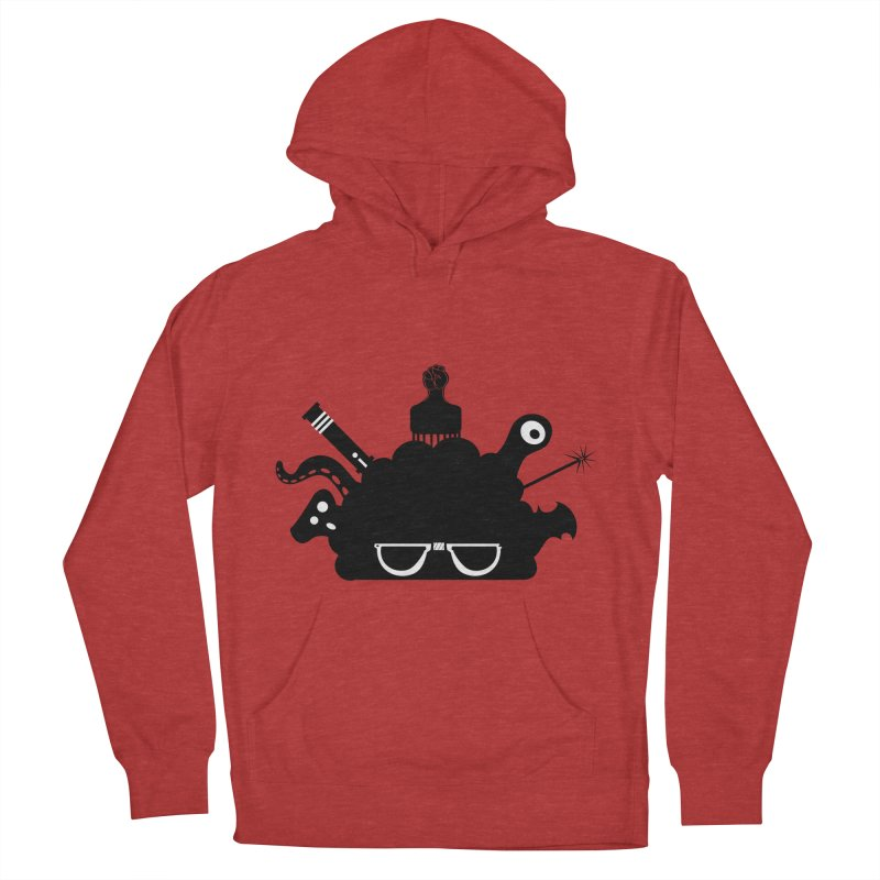 AfroGeek Thoughts Men's Pullover Hoody by afrogeek's Artist Shop