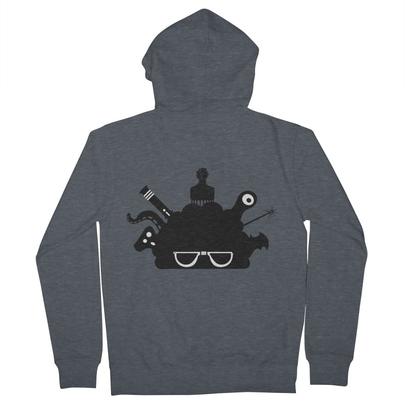 AfroGeek Thoughts Men's Zip-Up Hoody by afrogeek's Artist Shop