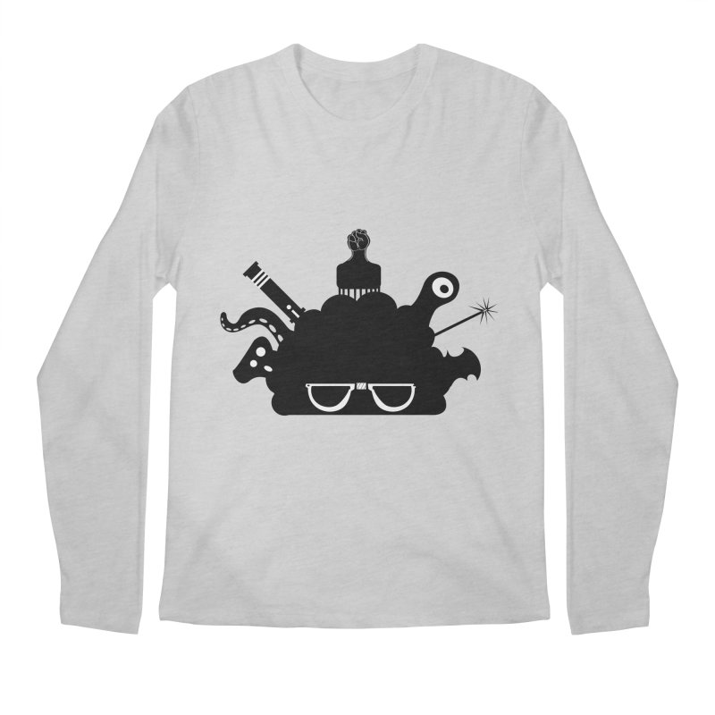 AfroGeek Thoughts Men's Longsleeve T-Shirt by afrogeek's Artist Shop