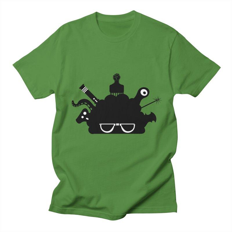 AfroGeek Thoughts Men's T-Shirt by afrogeek's Artist Shop