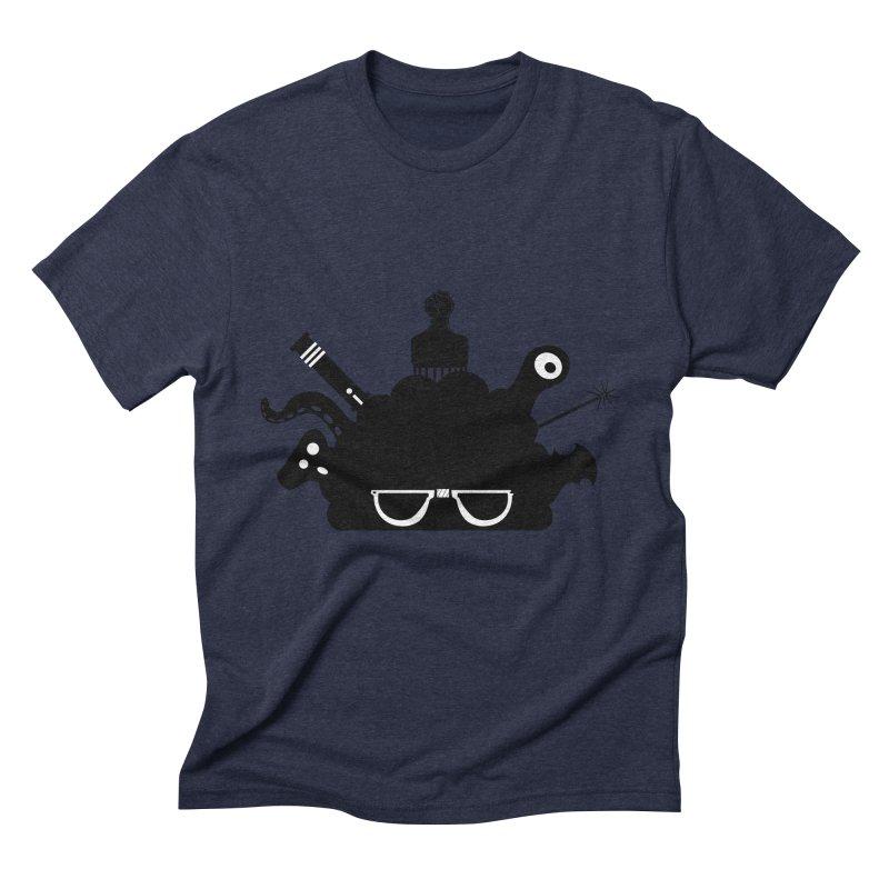AfroGeek Thoughts Men's Triblend T-Shirt by afrogeek's Artist Shop