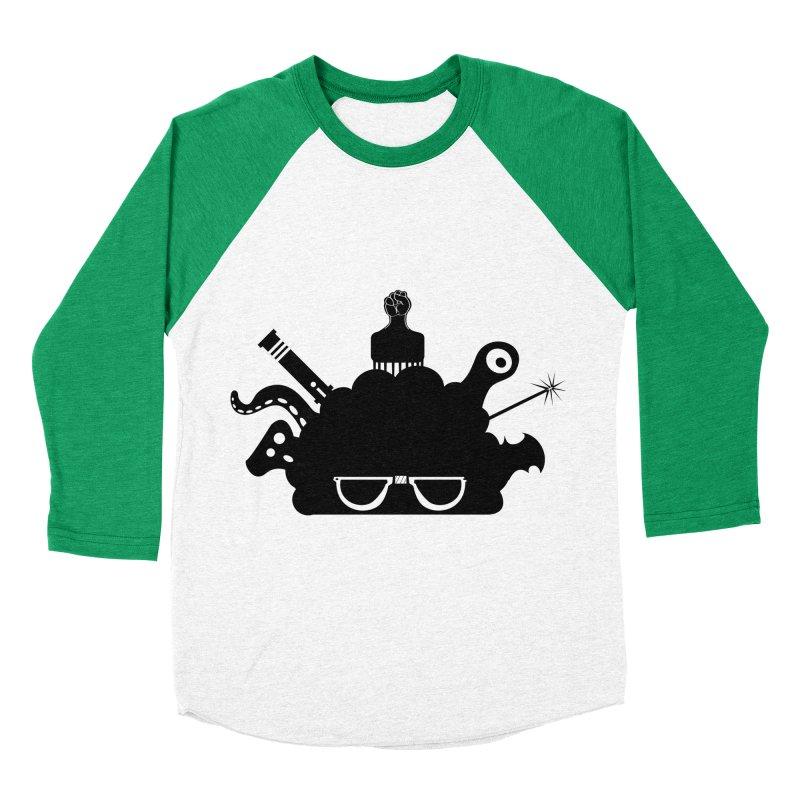 AfroGeek Thoughts Women's Baseball Triblend T-Shirt by afrogeek's Artist Shop