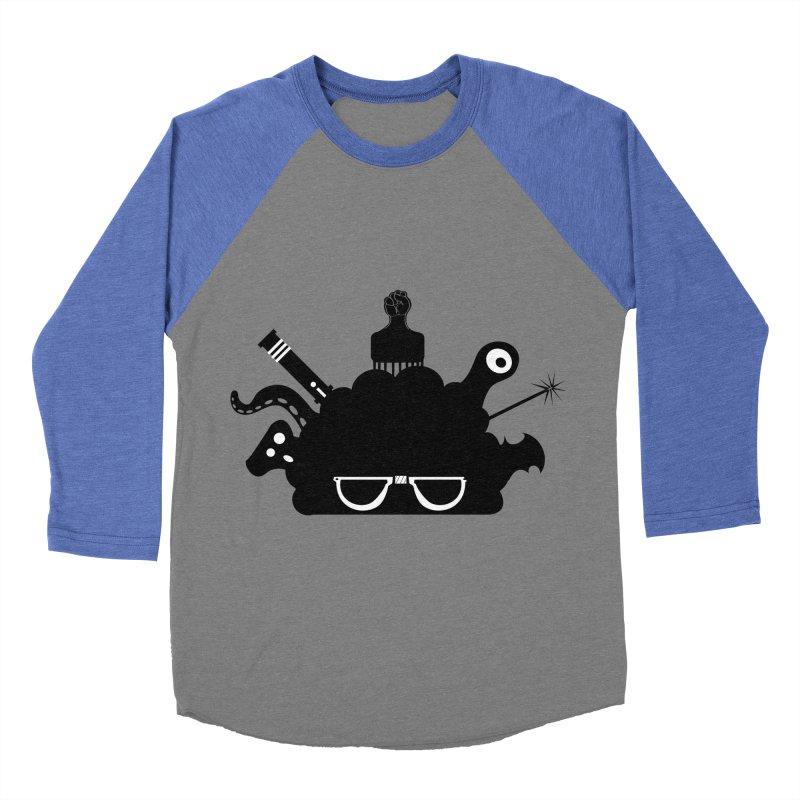AfroGeek Thoughts Women's Baseball Triblend Longsleeve T-Shirt by afrogeek's Artist Shop