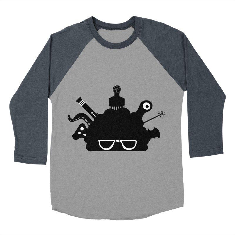 AfroGeek Thoughts Men's Baseball Triblend T-Shirt by afrogeek's Artist Shop