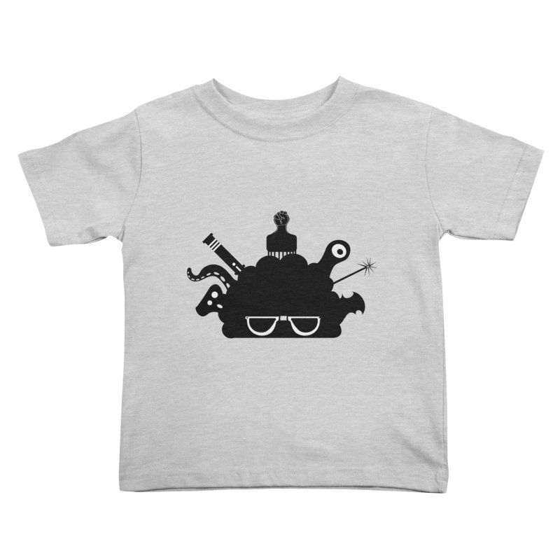 AfroGeek Thoughts Kids Toddler T-Shirt by afrogeek's Artist Shop