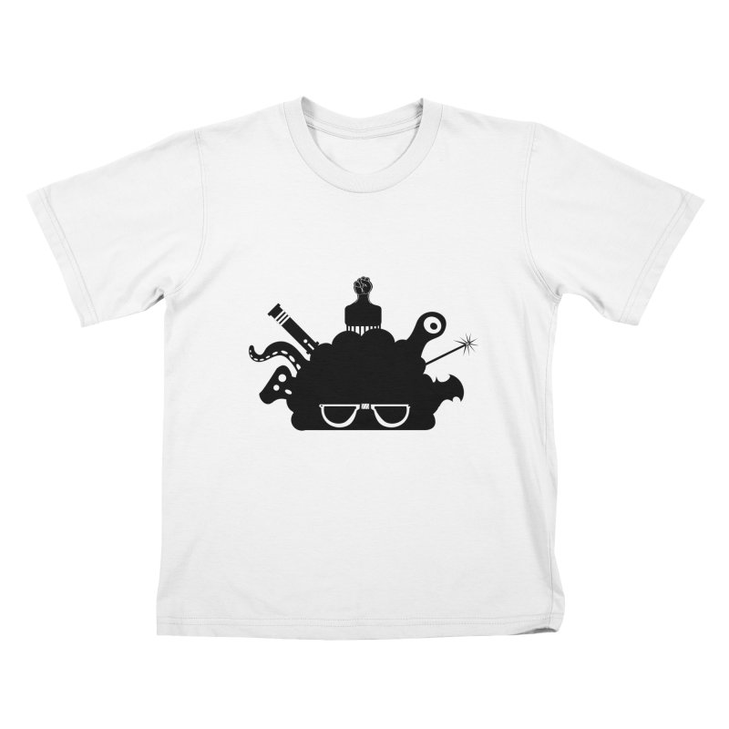 AfroGeek Thoughts Kids T-Shirt by afrogeek's Artist Shop