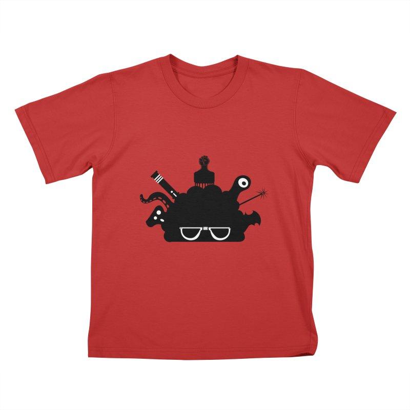 AfroGeek Thoughts Kids T-Shirt by afrogeek's Artist Shop
