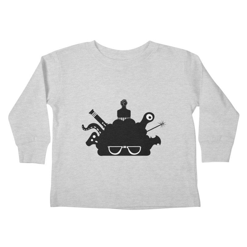 AfroGeek Thoughts Kids Toddler Longsleeve T-Shirt by afrogeek's Artist Shop