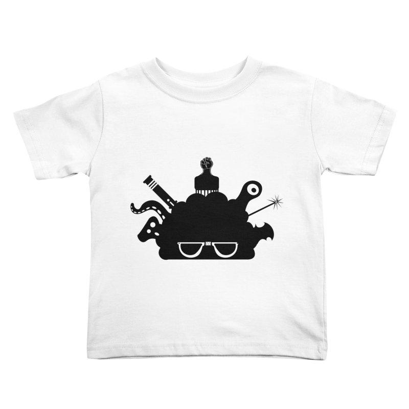 AfroGeek Thoughts Kids Toddler T-Shirt by afrogeek's Artist Shop
