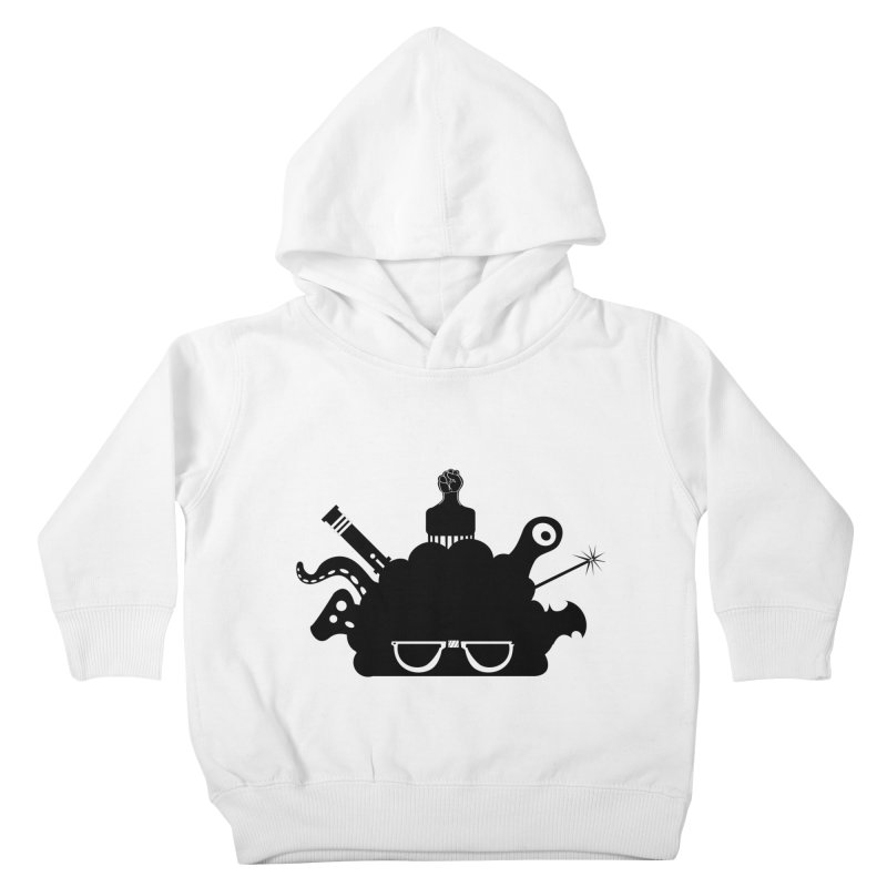 AfroGeek Thoughts Kids Toddler Pullover Hoody by afrogeek's Artist Shop