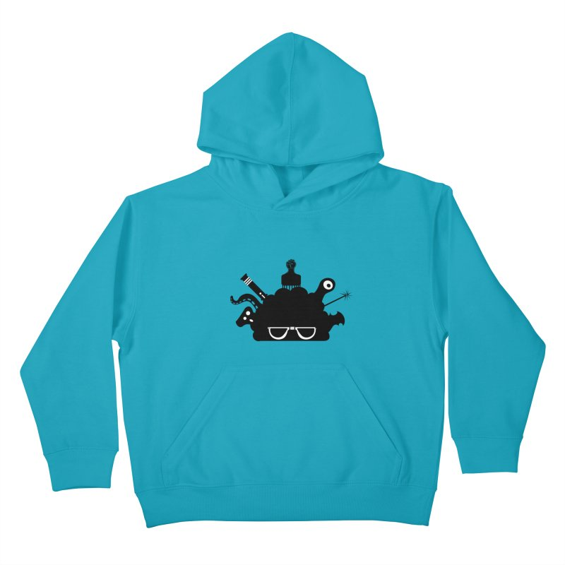AfroGeek Thoughts Kids Pullover Hoody by afrogeek's Artist Shop