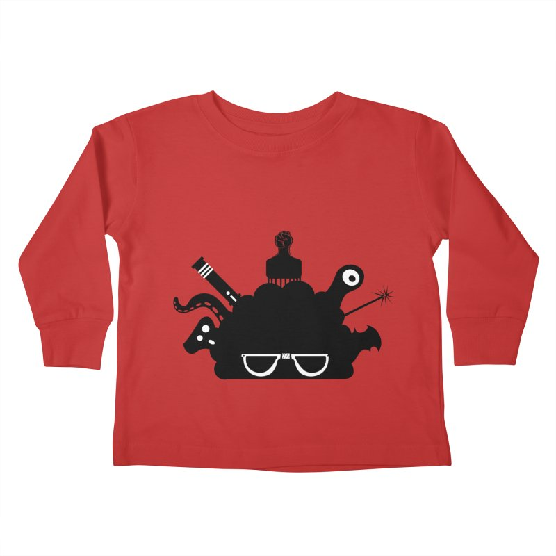 AfroGeek Thoughts Kids Toddler Longsleeve T-Shirt by afrogeek's Artist Shop
