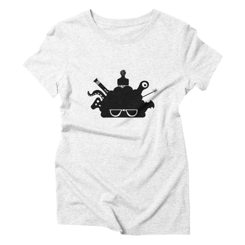 AfroGeek Thoughts Women's Triblend T-shirt by afrogeek's Artist Shop