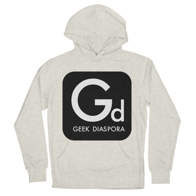 Geek Diaspora Men's French Terry Pullover Hoody by afrogeek's Artist Shop
