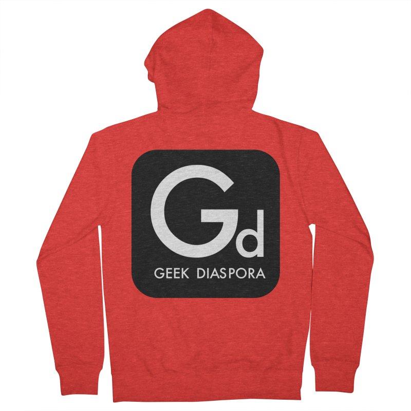 Geek Diaspora Men's Zip-Up Hoody by afrogeek's Artist Shop