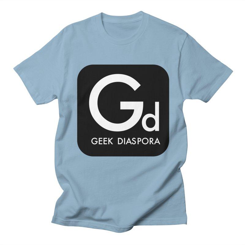 Geek Diaspora Men's T-Shirt by afrogeek's Artist Shop