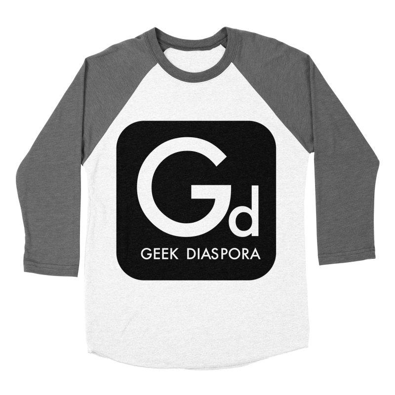 Geek Diaspora Women's Baseball Triblend T-Shirt by afrogeek's Artist Shop